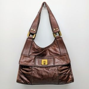 Fossil Fifty-Four Leather Bag
